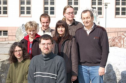 Picture of the working group dedicated to the 60th birthday of Prof. Trimper