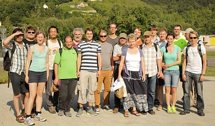 Excursion of the Surface Science Group 2015