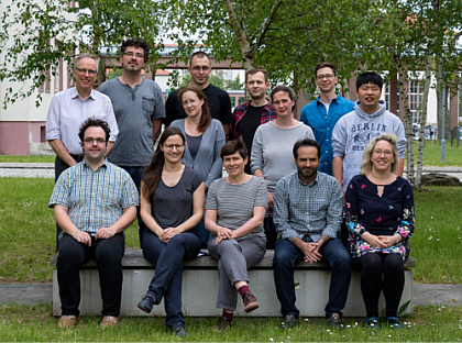 Research Group Exp. Polymer Physics MLU Halle-Wittenberg